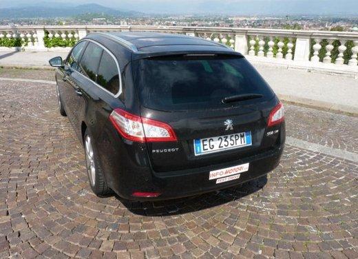 Prova su strada di Peugeot 508 Station Wagon