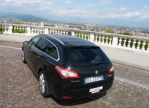 Prova su strada di Peugeot 508 Station Wagon - Foto 26 di 31