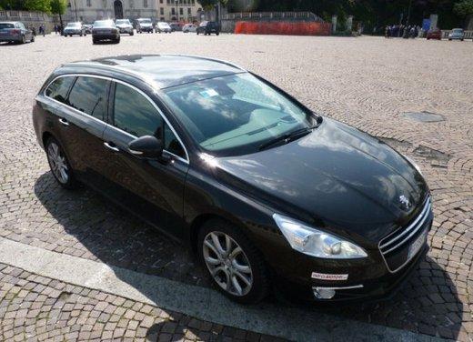 Prova su strada di Peugeot 508 Station Wagon - Foto 27 di 31