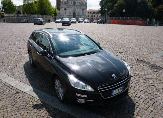 Prova su strada di Peugeot 508 Station Wagon - Foto 28 di 31