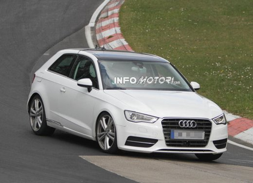 Audi S3 video spia al Nürburgring