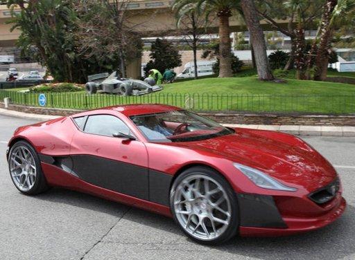 Rimac Concept One da 1074 CV