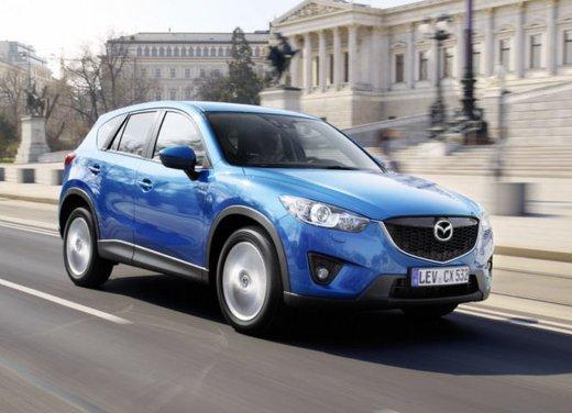Mazda CX-5 prova su strada del nuovo SUV Mazda con tecnologia SkyActiv