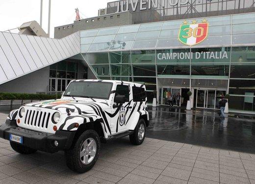 Juventus festeggia lo scudetto con una Jeep Wrangler