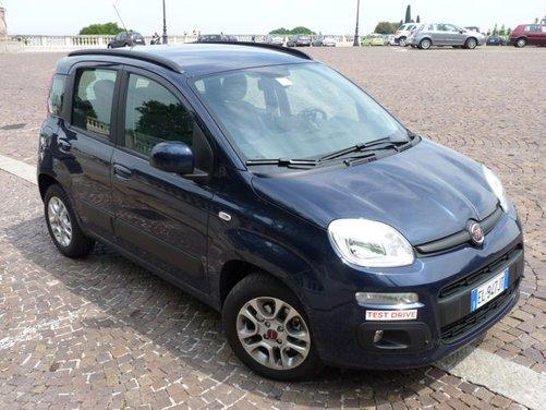 Prova su strada della Nuova Fiat Panda con motore diesel Multijet