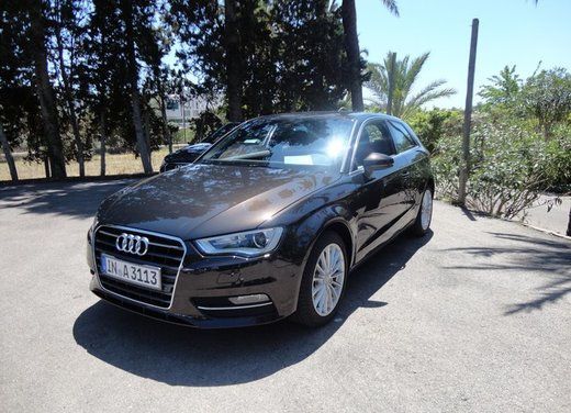 Prova su strada della nuova Audi A3