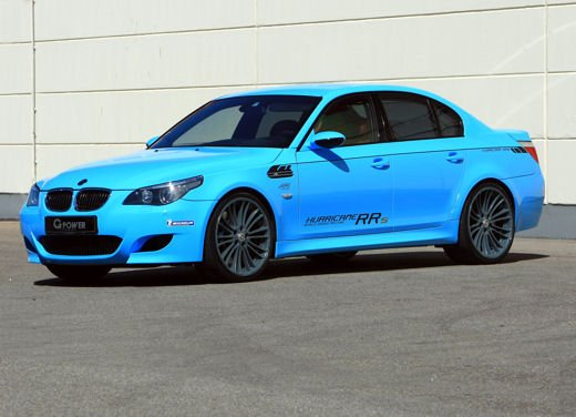 BMW M5 Hurricane RR da 819 Cv by G-Power - Foto 3 di 9