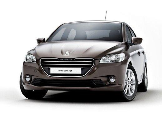 Prime foto spia della nuova Peugeot 301 - Foto 1 di 13