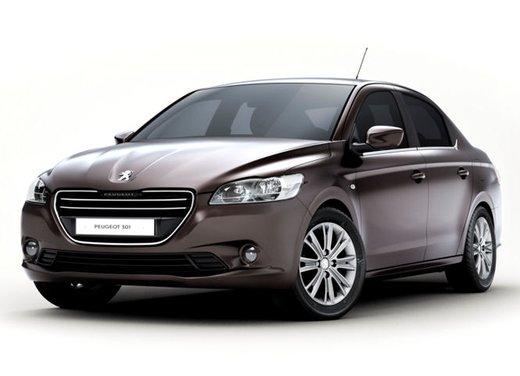 Prime foto spia della nuova Peugeot 301 - Foto 3 di 13
