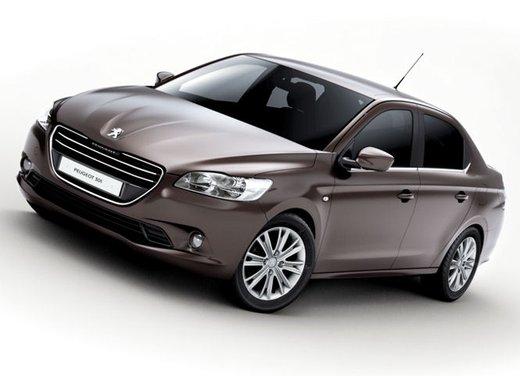 Prime foto spia della nuova Peugeot 301 - Foto 4 di 13