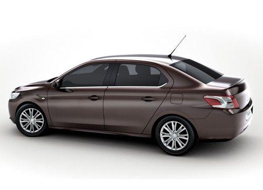 Prime foto spia della nuova Peugeot 301 - Foto 5 di 13