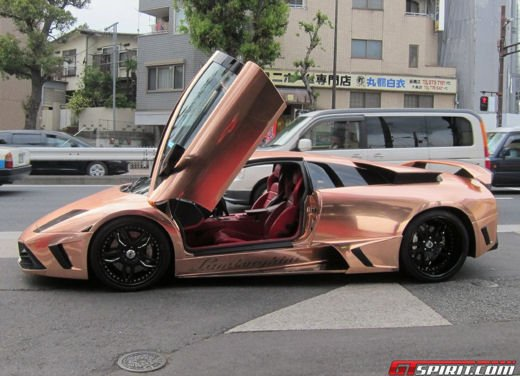 Lamborghini Murcielago Gold by Office-K - Foto 9 di 23