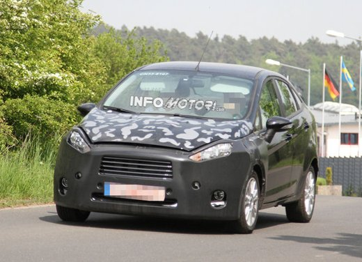 Ford Fiesta 2012, la nuova generazione pronta al debutto - Foto 8 di 24