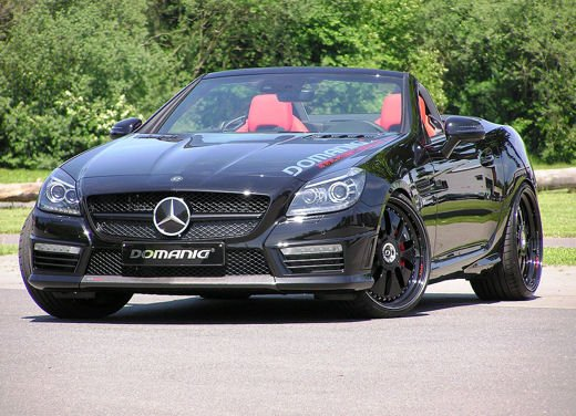 Mercedes SLK 55 AMG by Domanig Autodesign