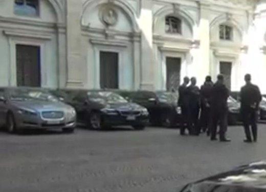 Parata di auto blu a Roma per tre giorni