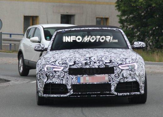 Audi RS5 Cabrio: nuove foto spia - Foto 1 di 10