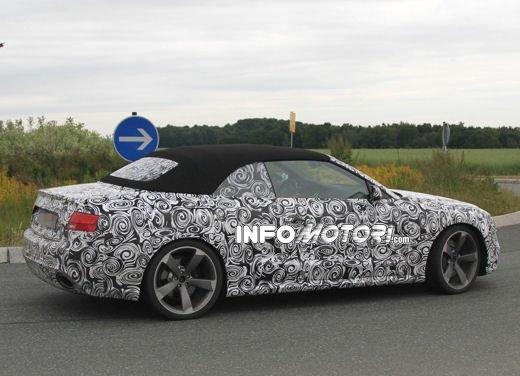 Audi RS5 Cabrio: nuove foto spia - Foto 6 di 10