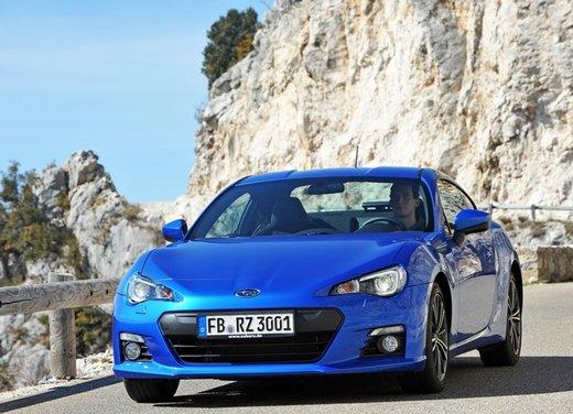 Subaru BRZ: prova su strada della coupé boxer
