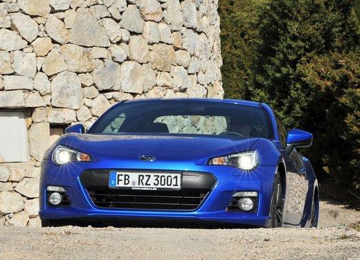 Subaru BRZ: prova su strada della coupé boxer - Foto 12 di 36