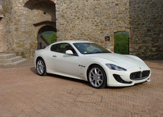Maserati GranTurismo Sport provata su strada sui colli senesi - Foto 2 di 18