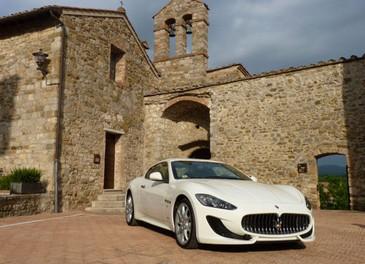 Maserati GranTurismo Sport provata su strada sui colli senesi - Foto 3 di 18