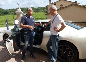 Maserati GranTurismo Sport provata su strada sui colli senesi - Foto 7 di 18