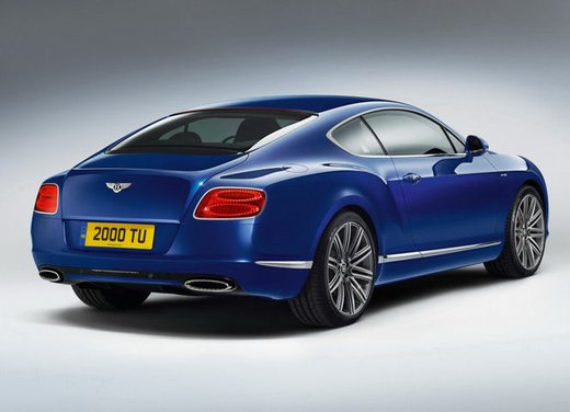 Bentley Continental GT Speed - Foto 10 di 16