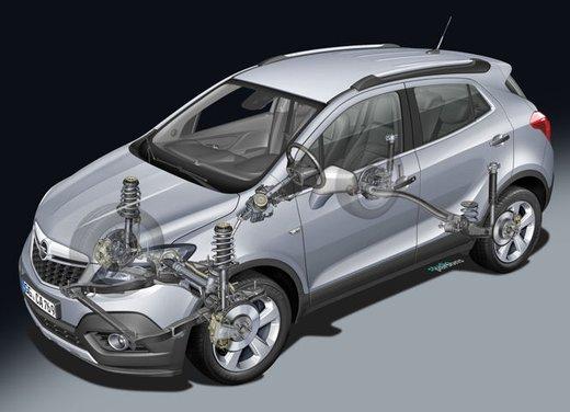 Opel Mokka, prezzi e promozioni del nuovo SUV compatto Opel - Foto 11 di 16