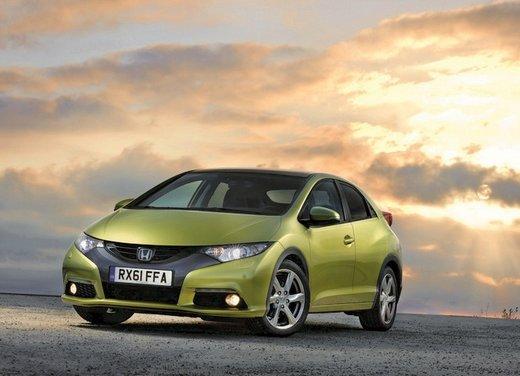 Honda Civic, prestazioni e consumi della gamma a benzina - Foto 1 di 32