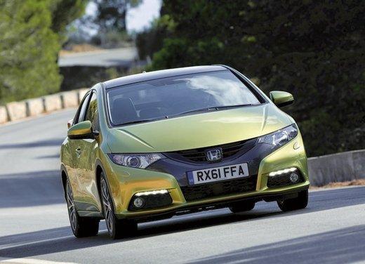 Honda Civic, prestazioni e consumi della gamma a benzina - Foto 5 di 32