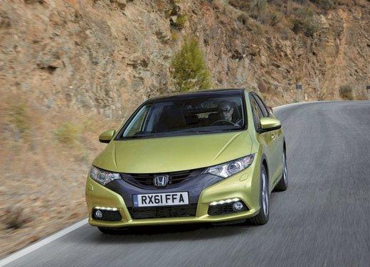 Honda Civic, prestazioni e consumi della gamma a benzina - Foto 6 di 32