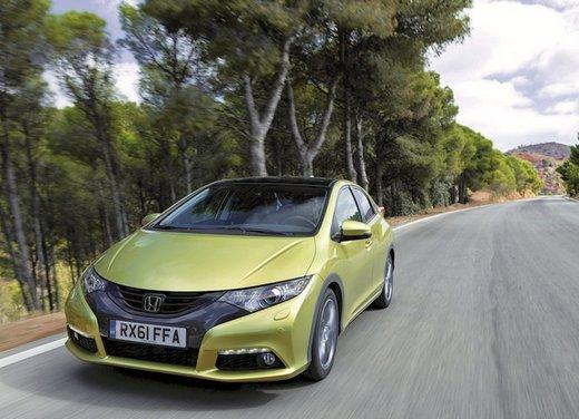 Honda Civic, prestazioni e consumi della gamma a benzina - Foto 8 di 32