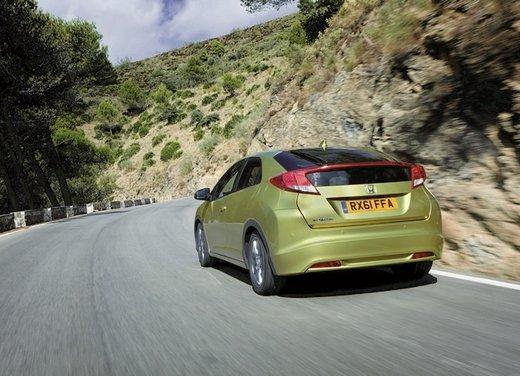 Honda Civic, prestazioni e consumi della gamma a benzina - Foto 12 di 32