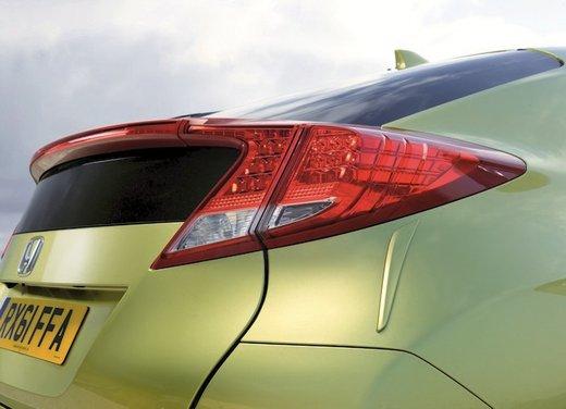 Honda Civic, prestazioni e consumi della gamma a benzina - Foto 13 di 32