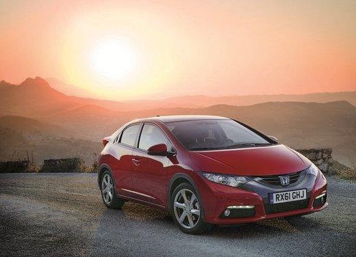 Honda Civic, prestazioni e consumi della gamma a benzina - Foto 14 di 32