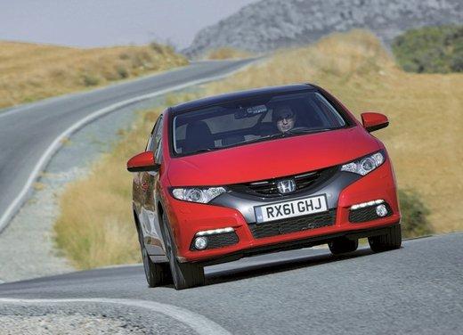 Honda Civic, prestazioni e consumi della gamma a benzina - Foto 16 di 32