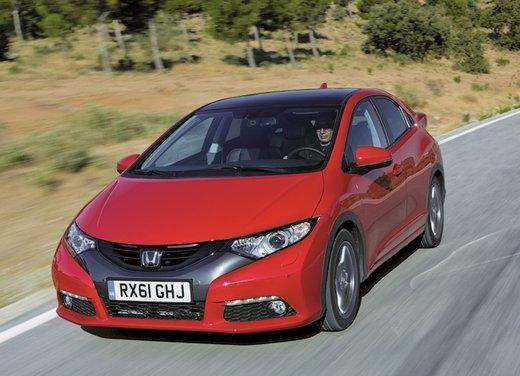 Honda Civic, prestazioni e consumi della gamma a benzina - Foto 17 di 32