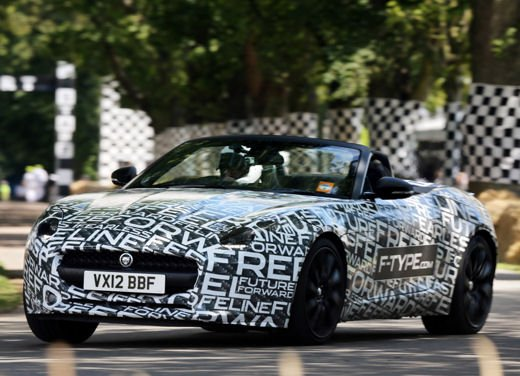 Jaguar F-Type al Goodwood Festival of Speed 2012 - Foto 15 di 17