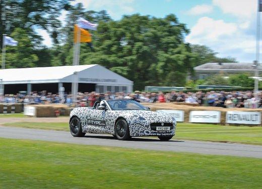Jaguar F-Type al Goodwood Festival of Speed 2012 - Foto 16 di 17
