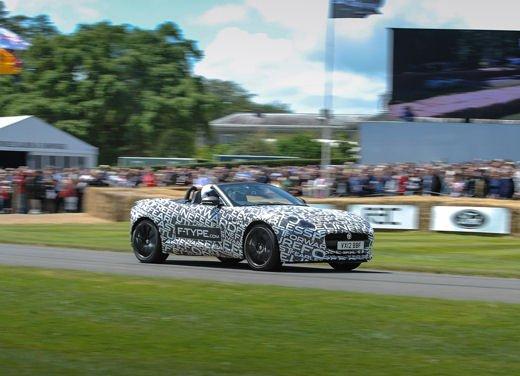Jaguar F-Type al Goodwood Festival of Speed 2012 - Foto 17 di 17