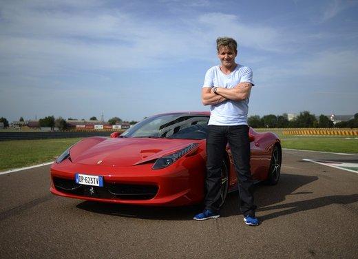 Gordon Ramsay promuove il Ristorante aziendale Ferrari