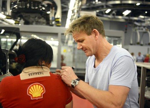 Gordon Ramsay promuove il Ristorante aziendale Ferrari - Foto 3 di 6