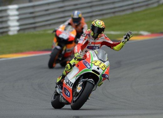 Valentino Rossi lascia la Ducati