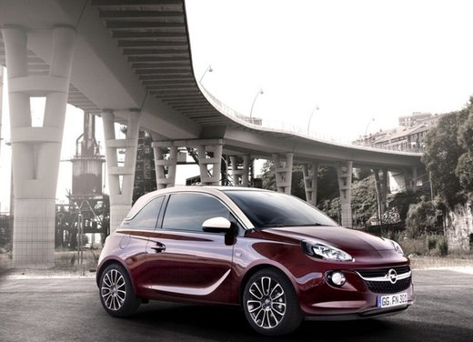 Opel Adam prime foto ufficiali