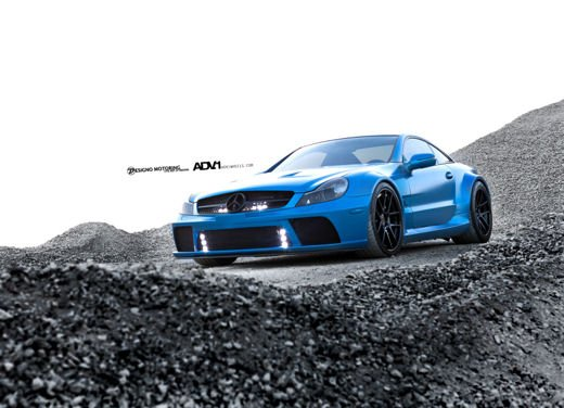 Mercedes SL65 AMG Black Series tuning by ADV - Foto 3 di 11