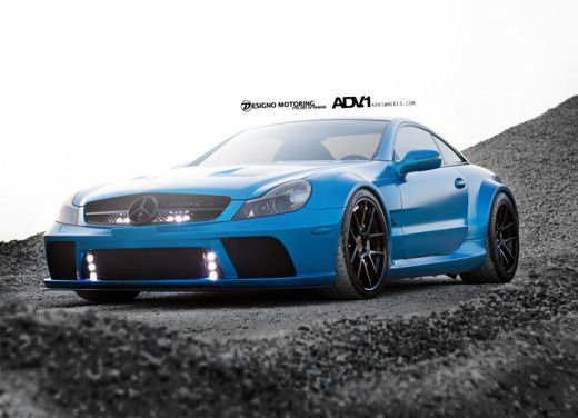 Mercedes SL65 AMG Black Series tuning by ADV - Foto 4 di 11