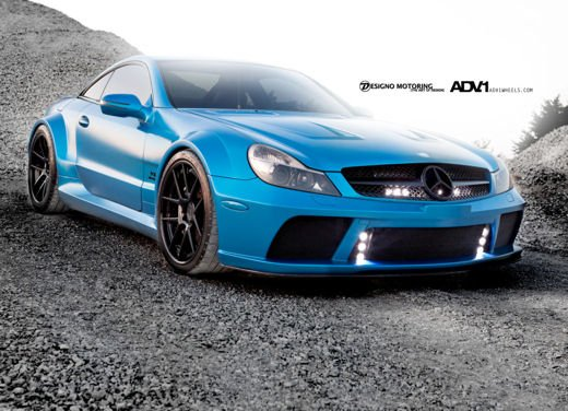 Mercedes SL65 AMG Black Series tuning by ADV - Foto 5 di 11