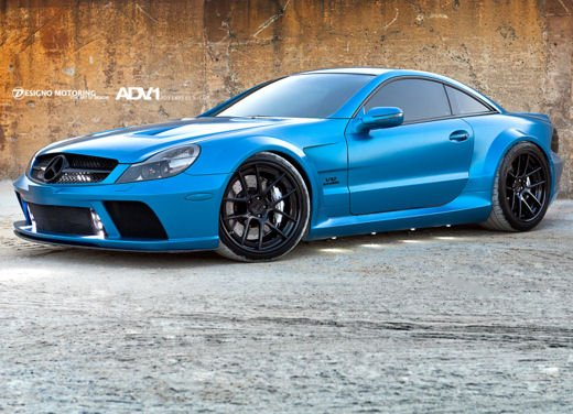 Mercedes SL65 AMG Black Series tuning by ADV - Foto 6 di 11