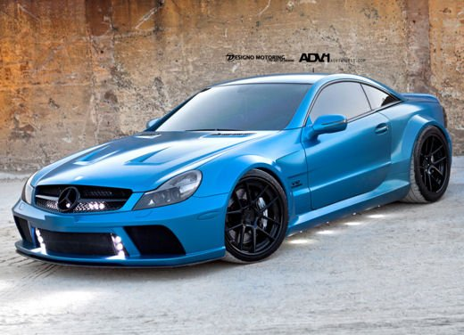 Mercedes SL65 AMG Black Series tuning by ADV