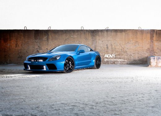 Mercedes SL65 AMG Black Series tuning by ADV - Foto 8 di 11
